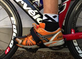 Test tijdwinst schoenen wissel triatlon